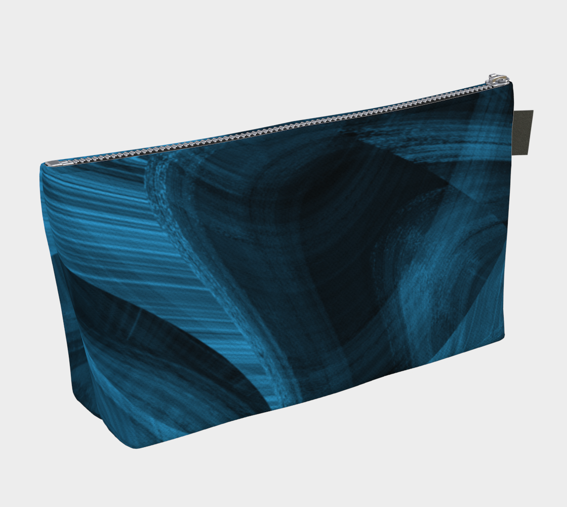 Bluish Black Hole Makeup Bag thumbnail #3