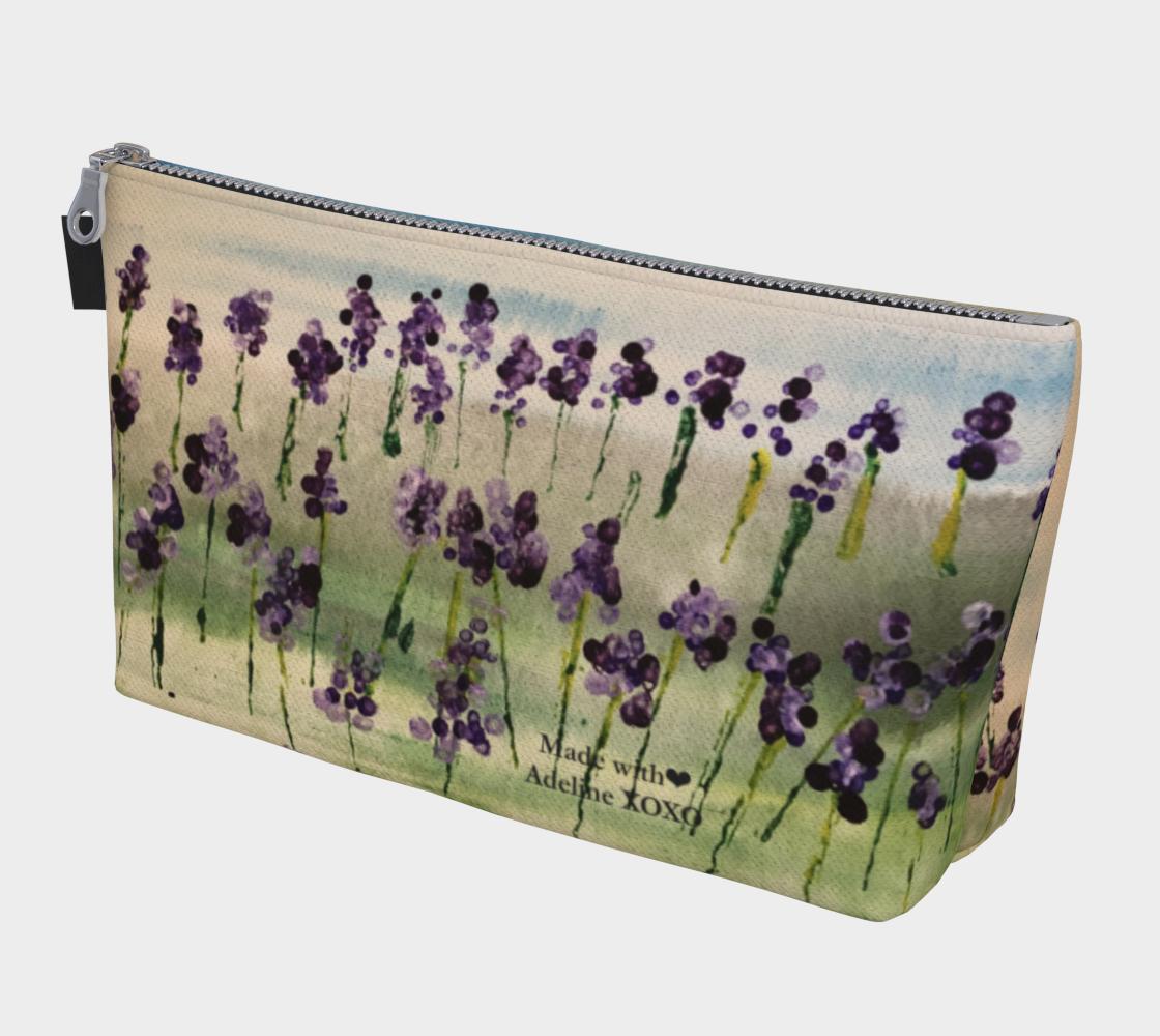 Aperçu de Adeline Foster Lavender field