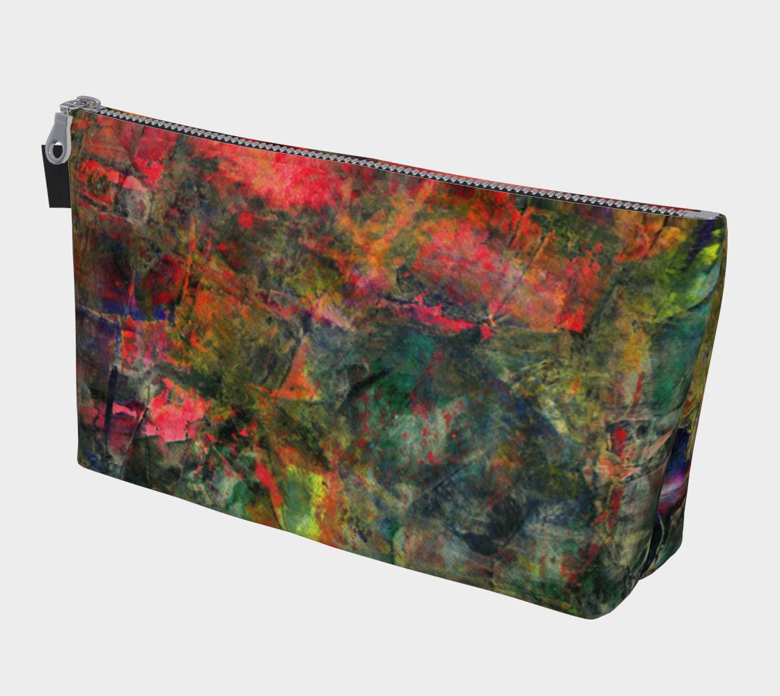 Abstract Garden Makeup Bag preview #1