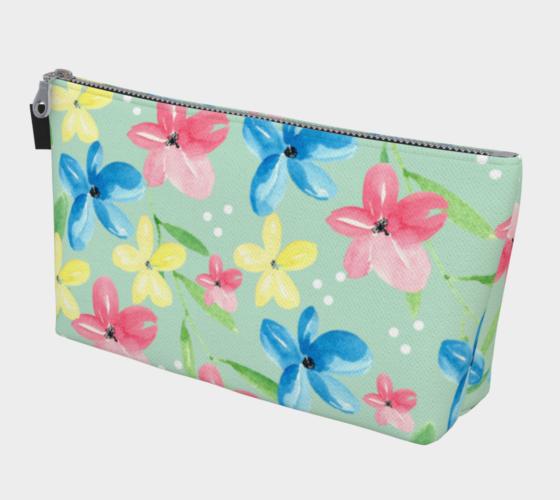 Floral Makeup Bag preview