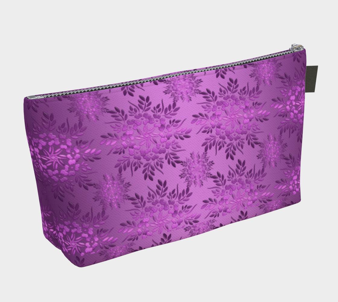 Aperçu de Retro Floral Violet Gradient #2