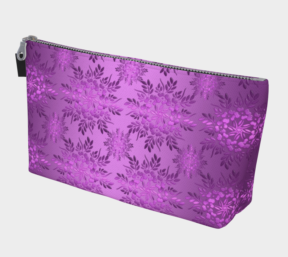 Retro Floral Violet Gradient preview