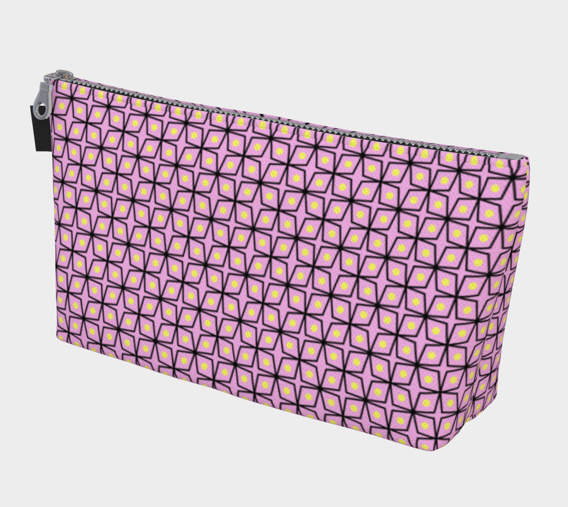 Pink and Yellow Geometric Pattern preview
