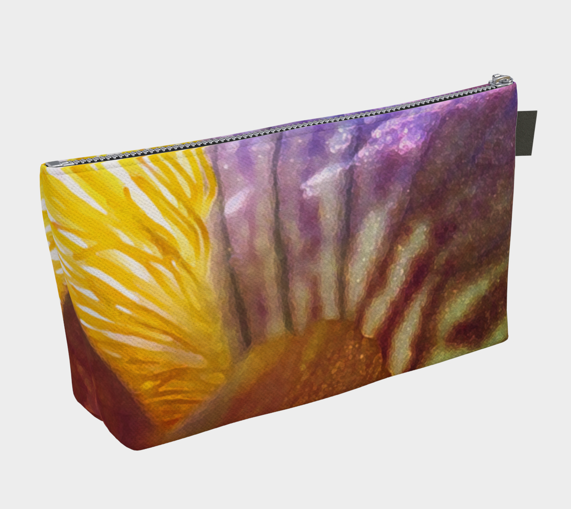 Sunrise Iris Flowerscape 3 Makeup Bag preview #2