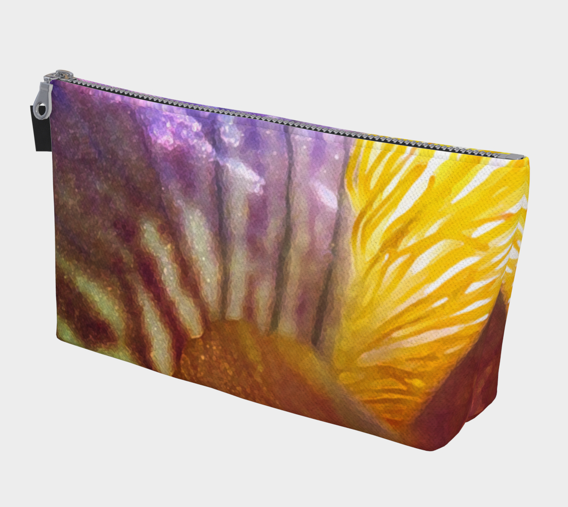 Sunrise Iris Flowerscape 3 Makeup Bag preview #1