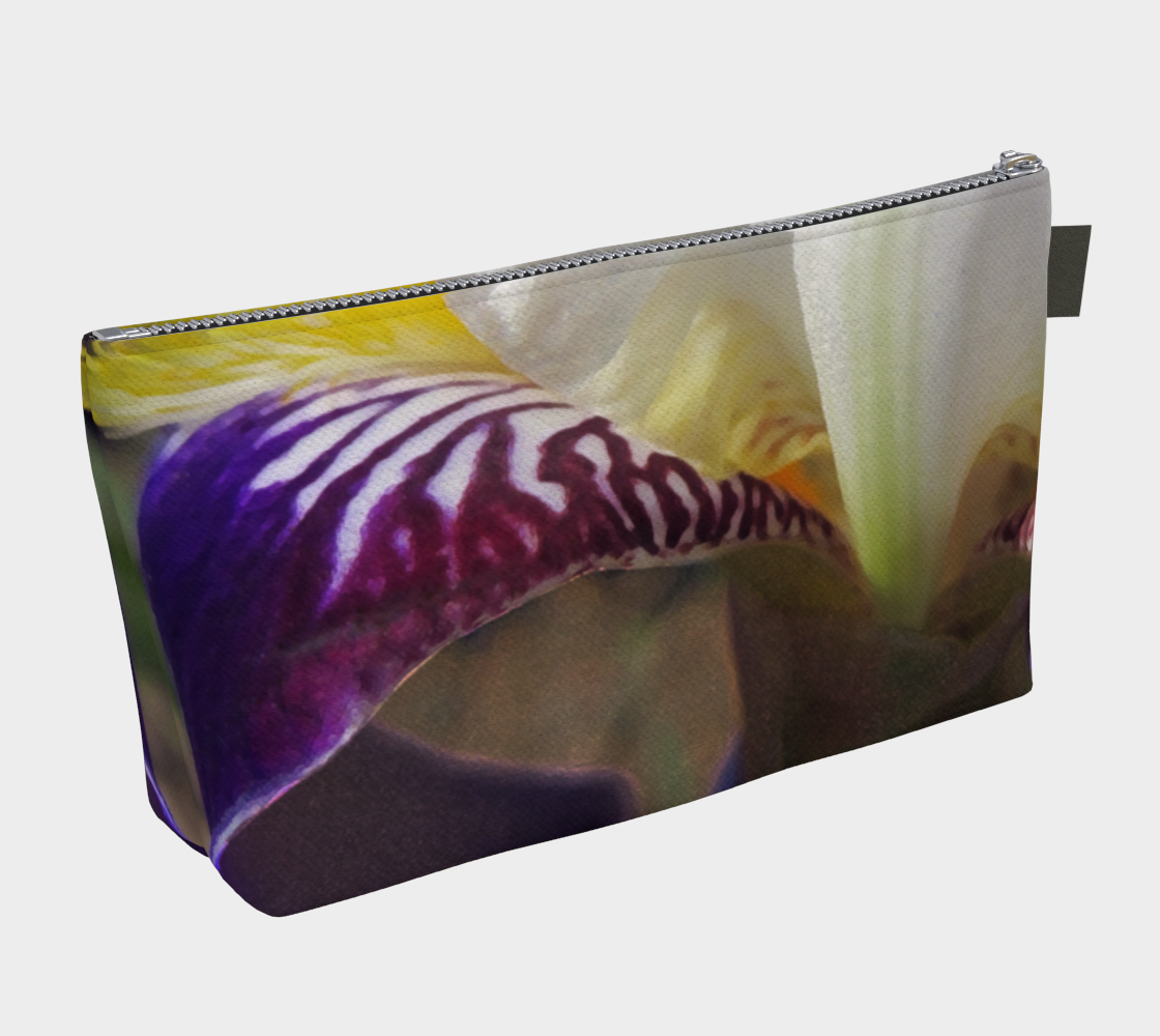 Wabash Iris Flowerscape 3 Makeup Bag preview #2