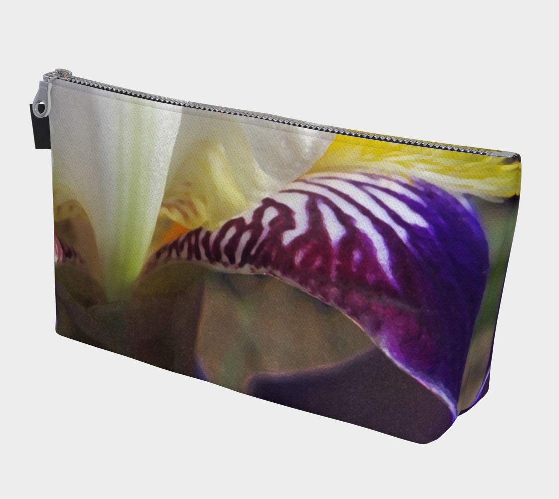 Wabash Iris Flowerscape 3 Makeup Bag preview #1