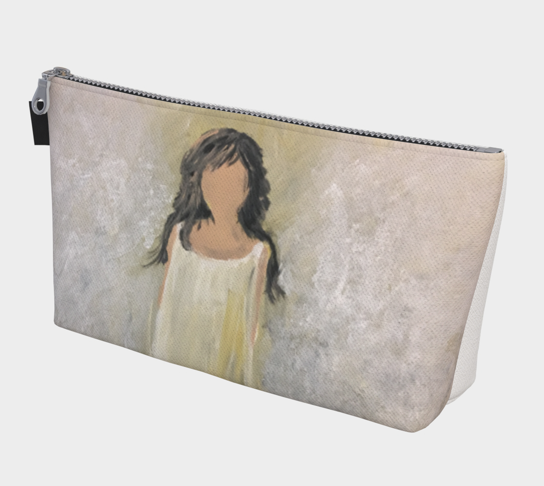 Angel Light Travel Pouch by Karen Pedevilla preview