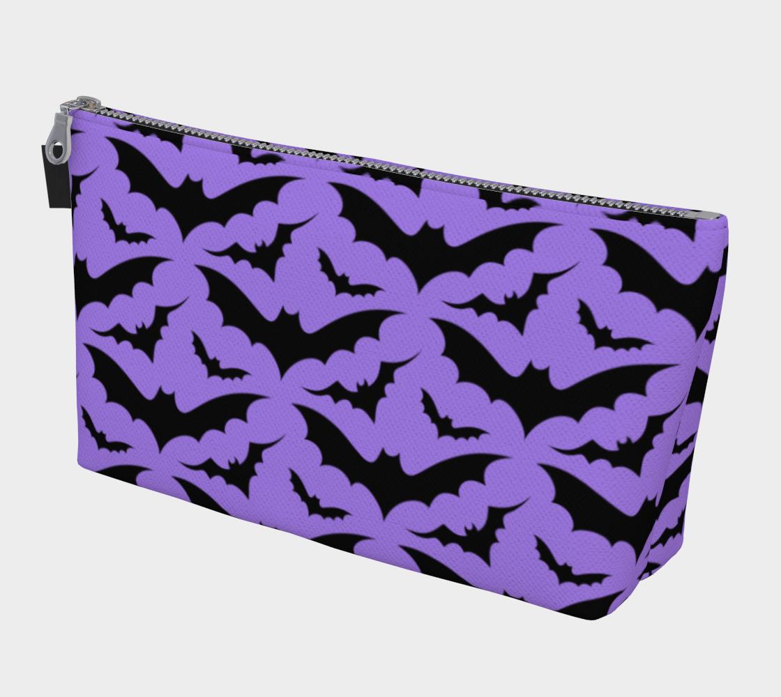 Purple Bats Makeup Bag preview