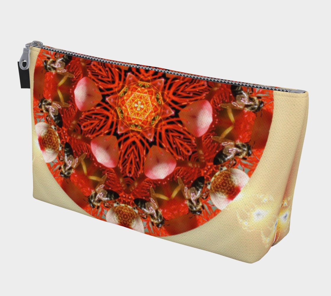 "Ambrosia ""Queen Bee"" Makeup Bag preview"