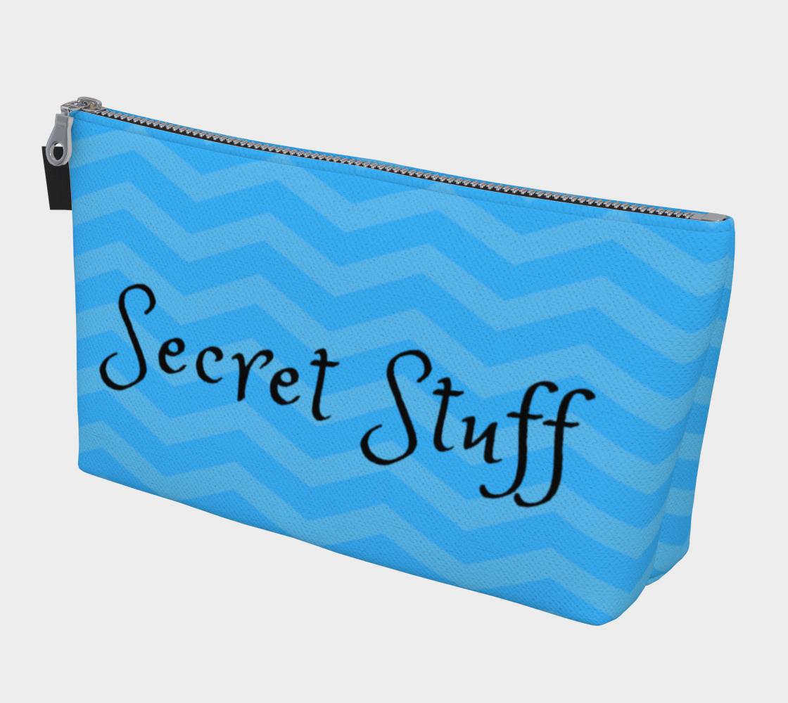 Secret Stuff Blue Chevrons preview