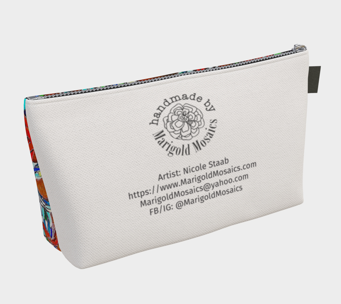 Travel Pouch 1 by Nicole Staab Marigold preview #2