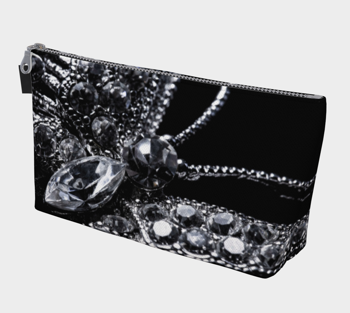 Butterfly Bling Makeup Bag preview