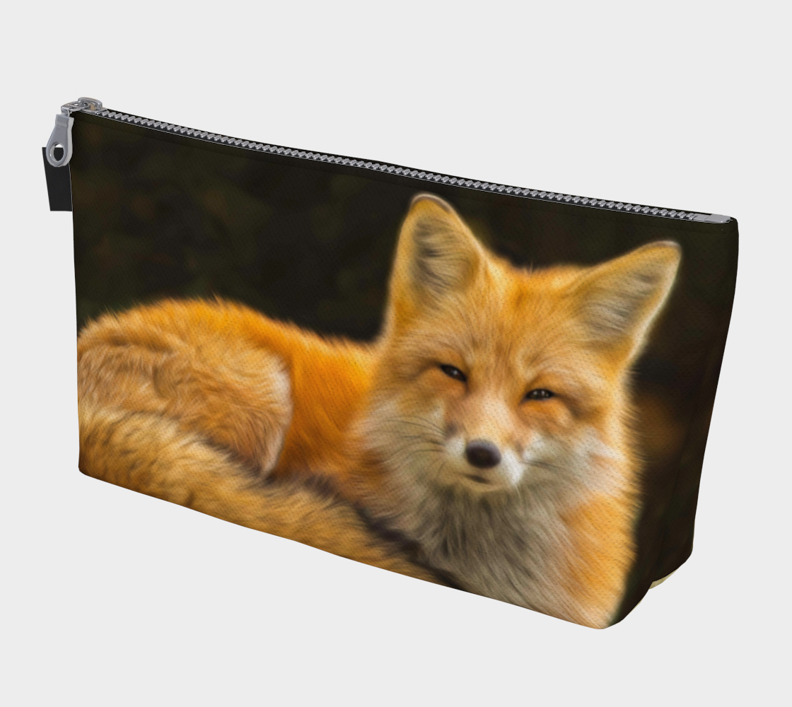 Sunkissed Fox Makeup Bag preview