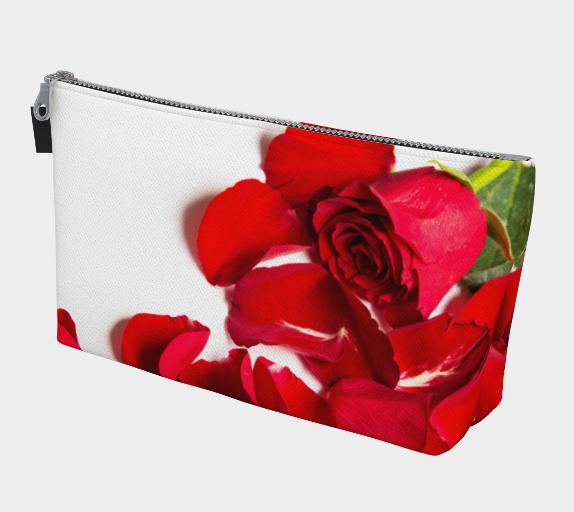 Roses are Red Makeup Bag preview
