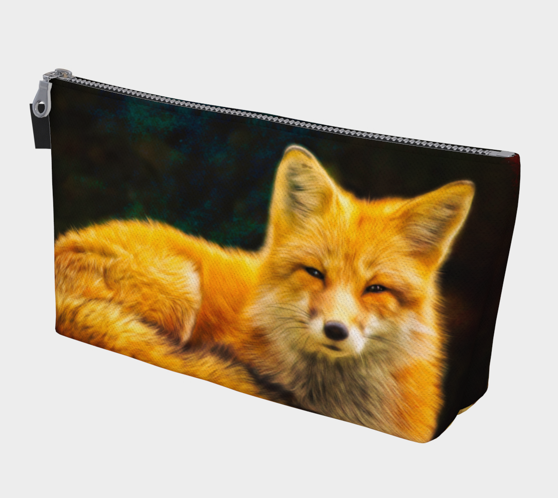 The Fox Makeup Bag preview