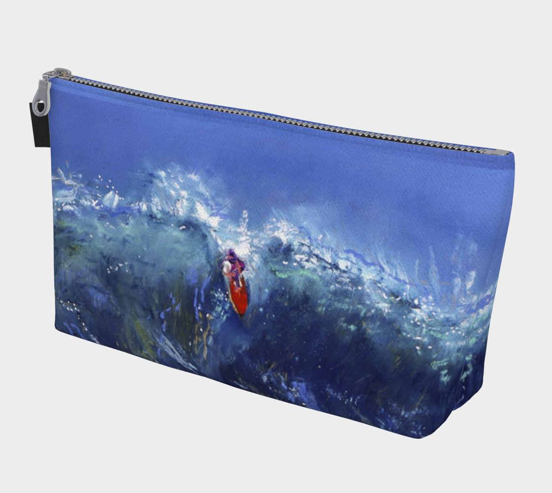 Big Sur / Hang Twenty  (2-Sided) Surfer Girl Makeup Bag  preview