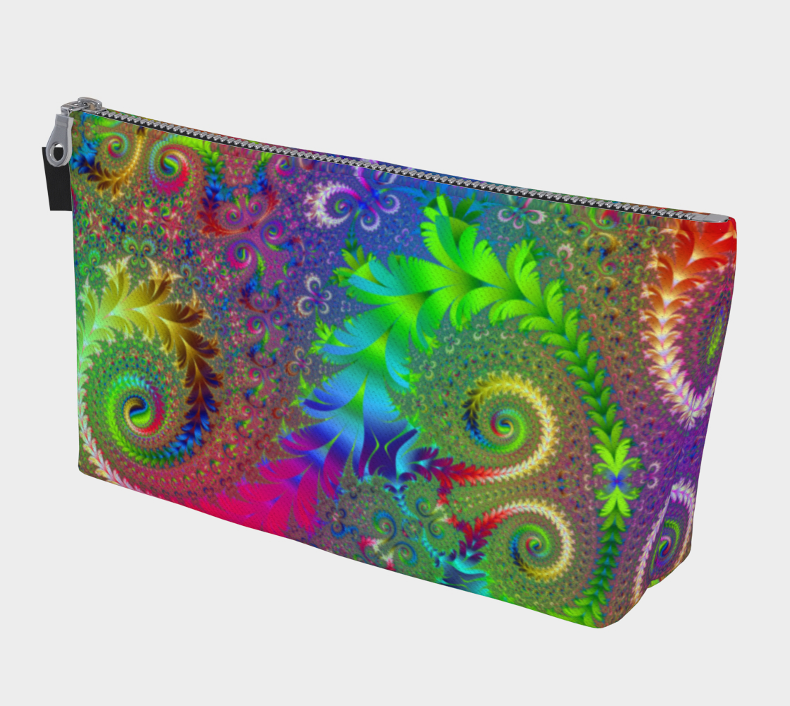 Colorful Floral Spiral Swirl Rainbow Pattern preview