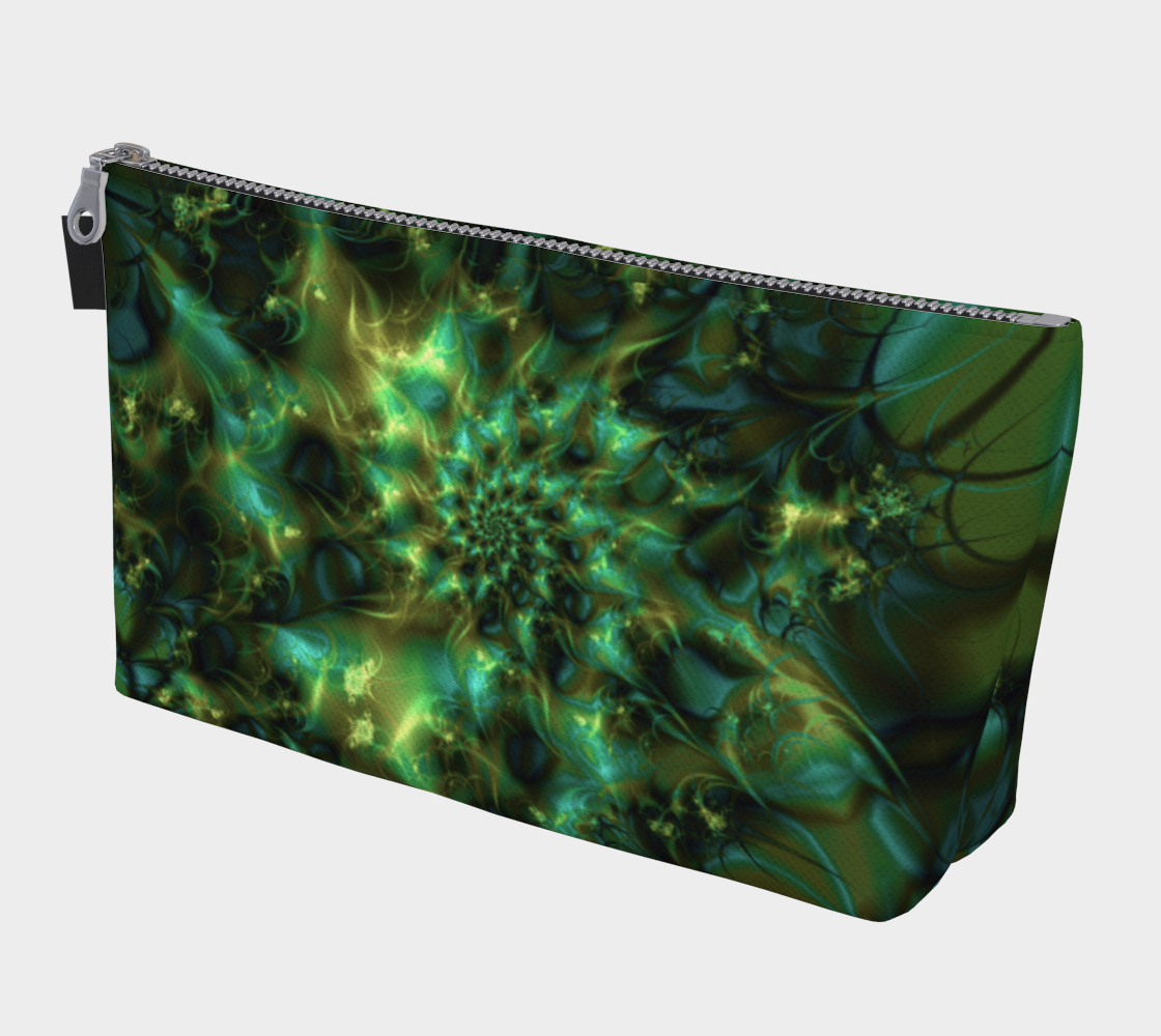 Cosmic Bud Cannabis Marijuana Art Makeup Bag preview