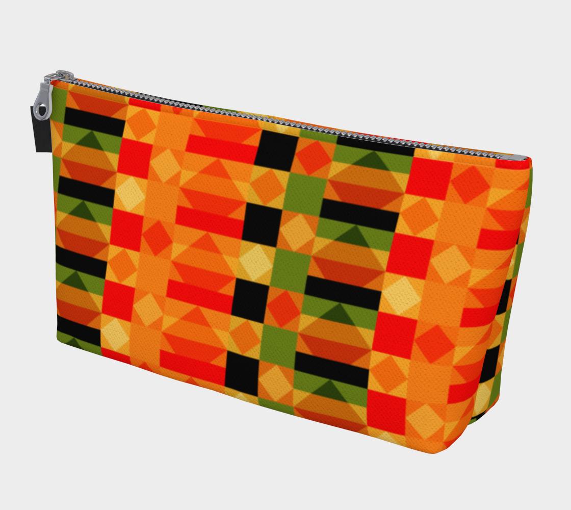 Modern African Kente Cloth Pattern preview