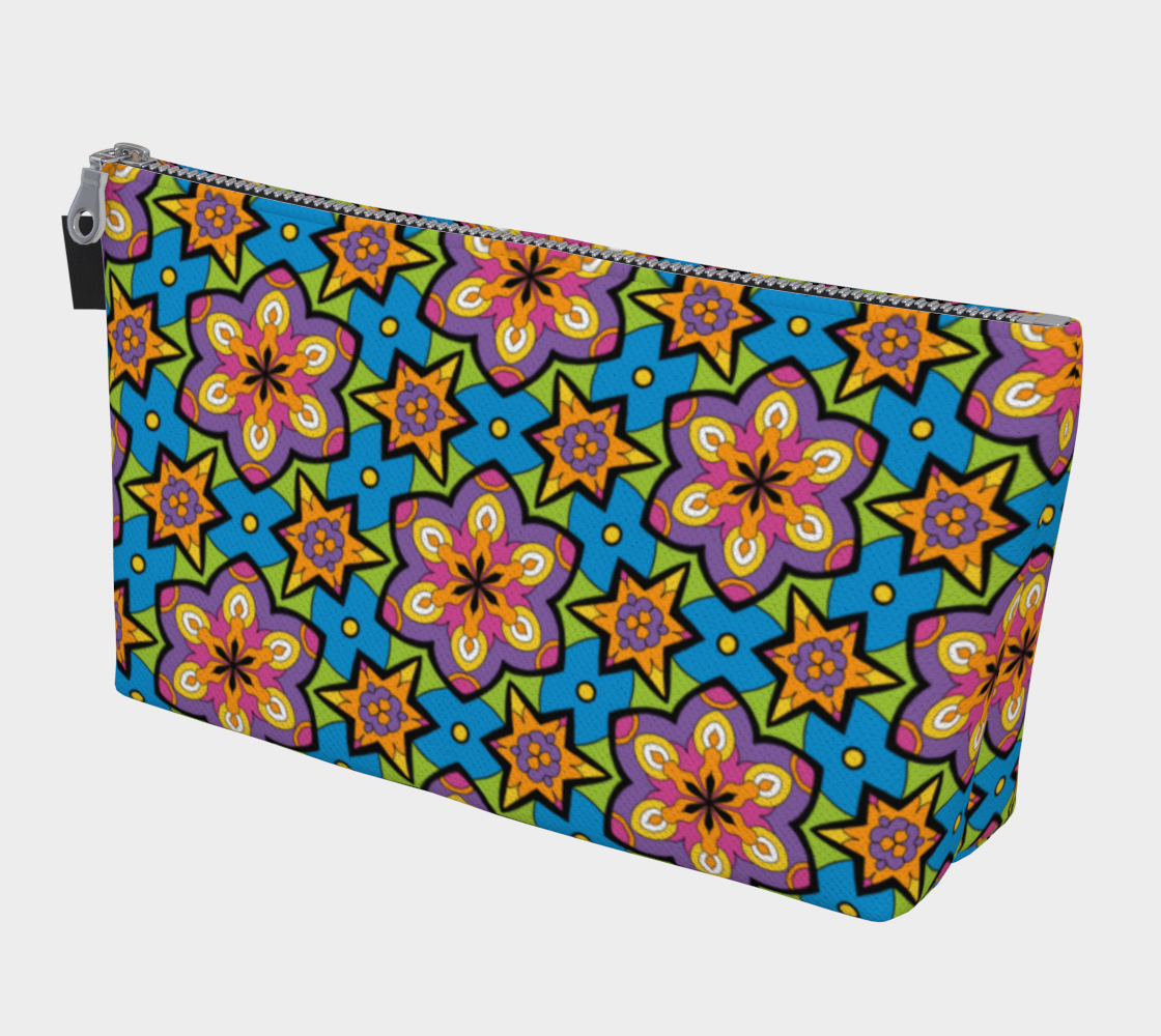 Bright Colorful Spring Floral Print preview