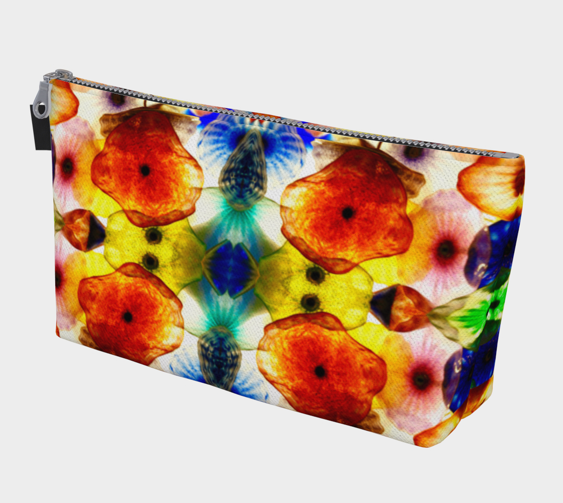 Fragile Flowers Makeup Bag preview