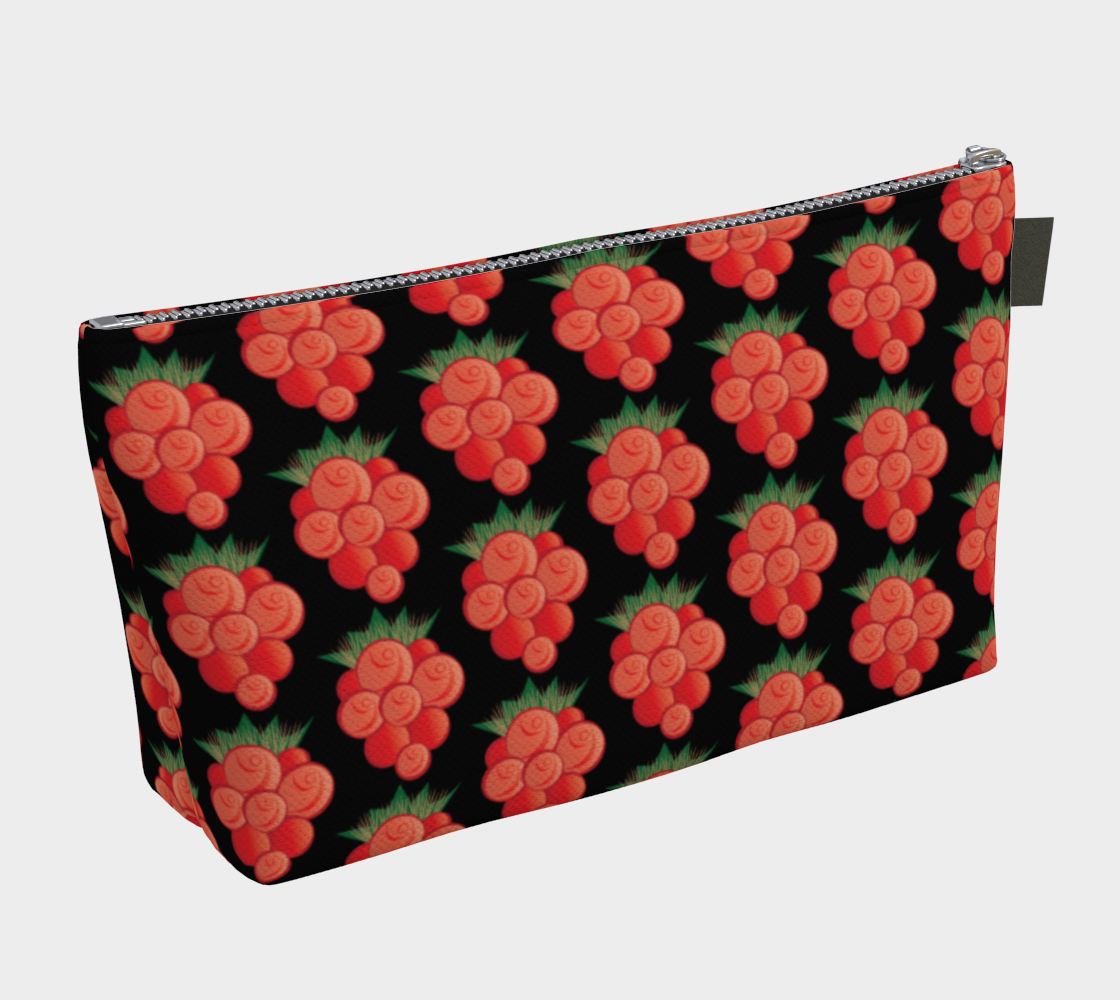 Salmonberry Makeup Bag preview #2