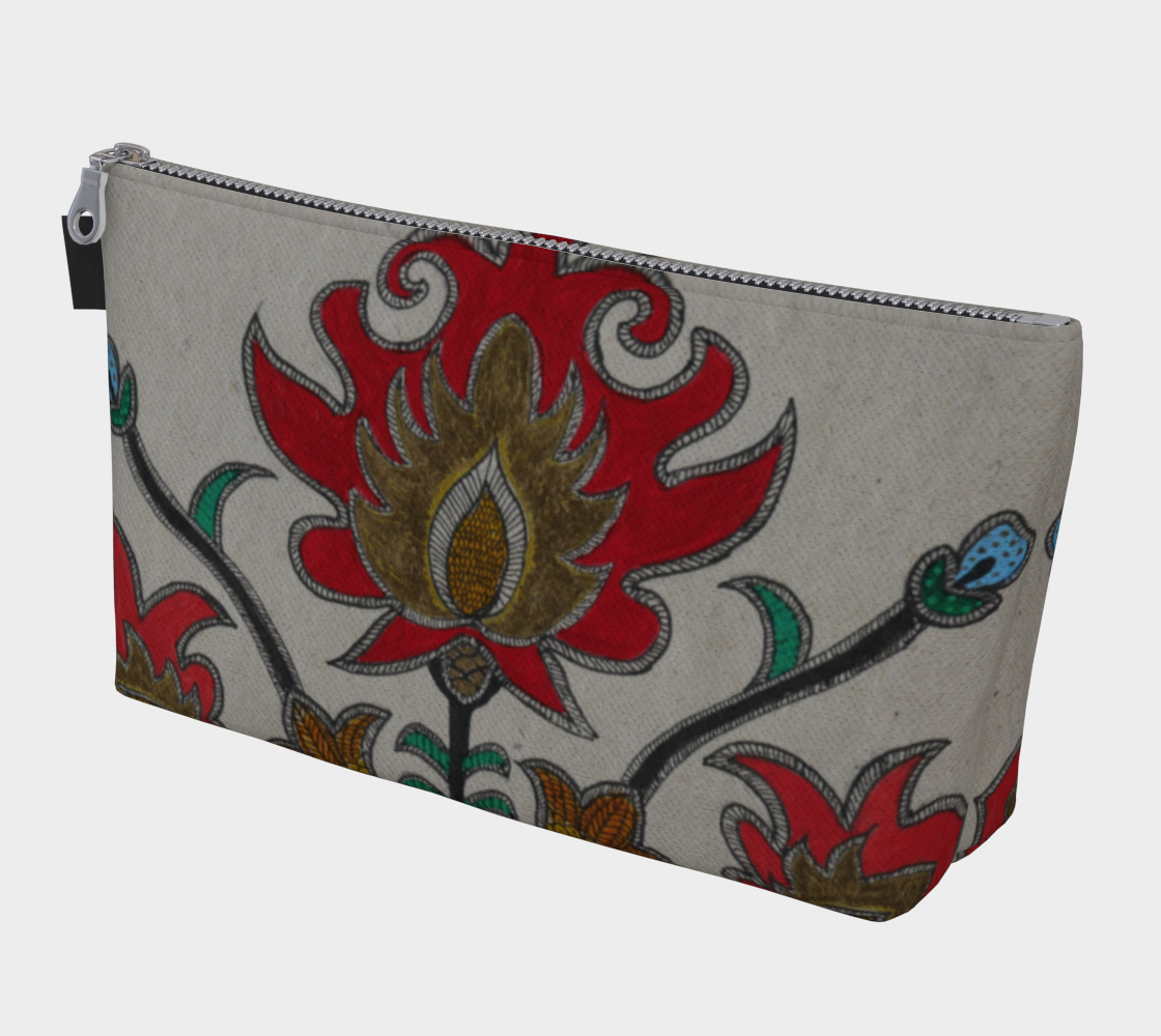 Beauty of flowers Make up Bag preview