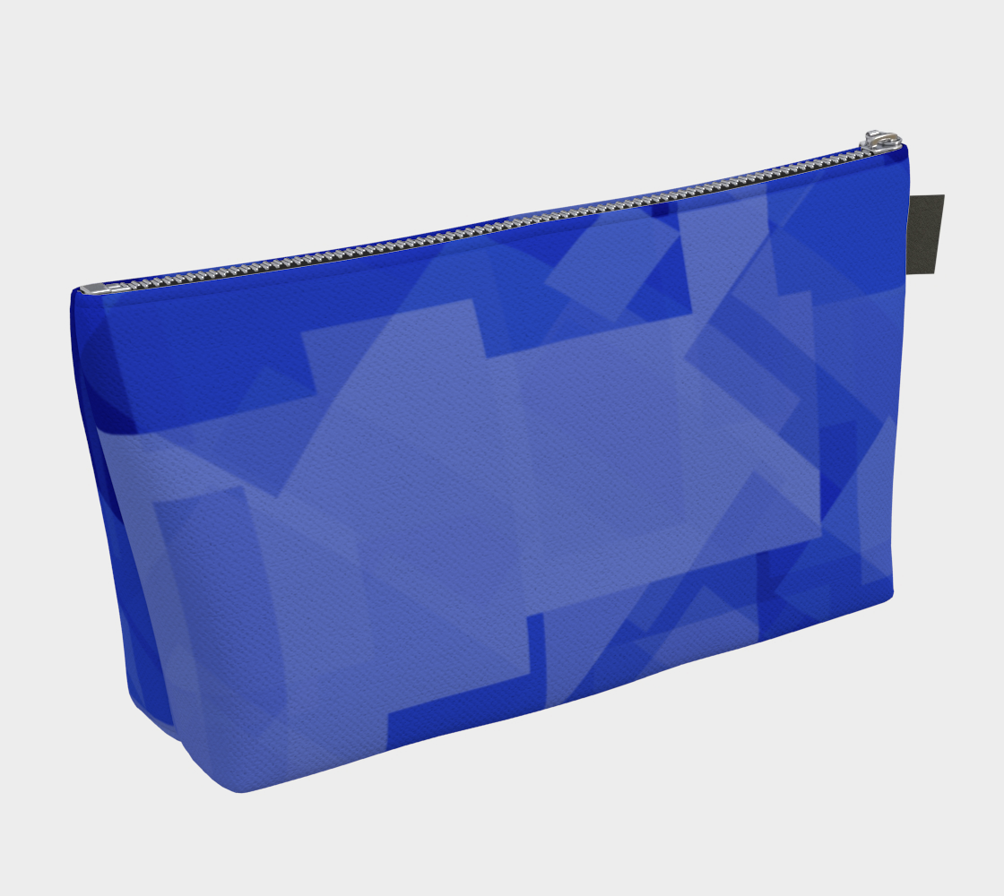 Blue is Better Makeup Bag preview #2