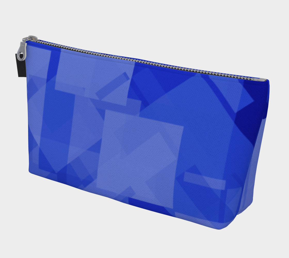Blue is Better Makeup Bag preview
