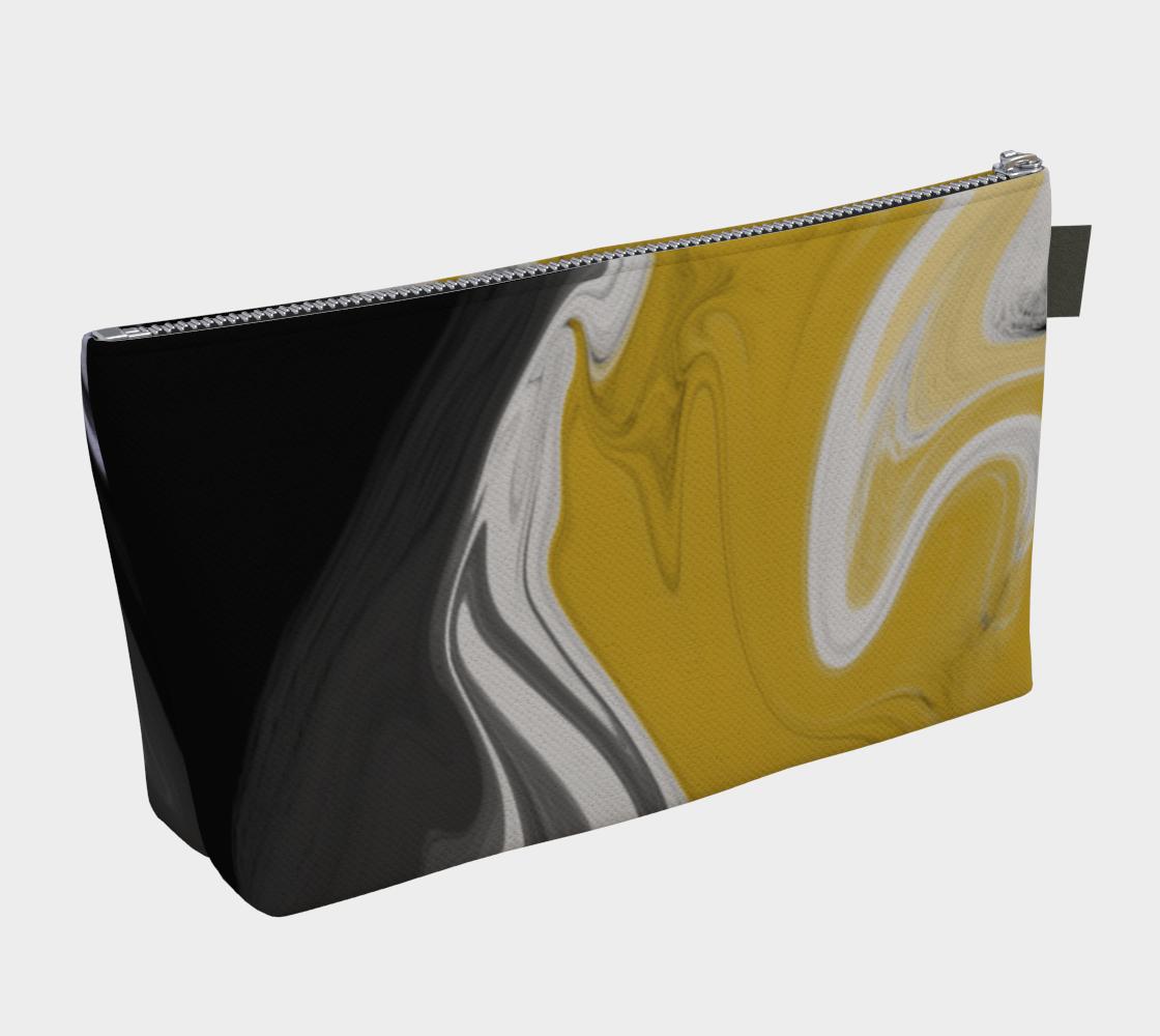 Liquid Black Gold Makeup Bag preview #2