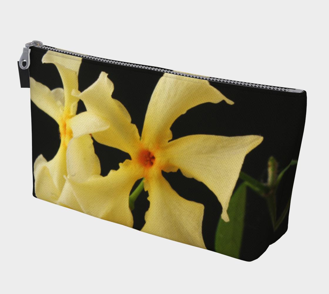 Star Jasmine Flower Makeup Bag preview