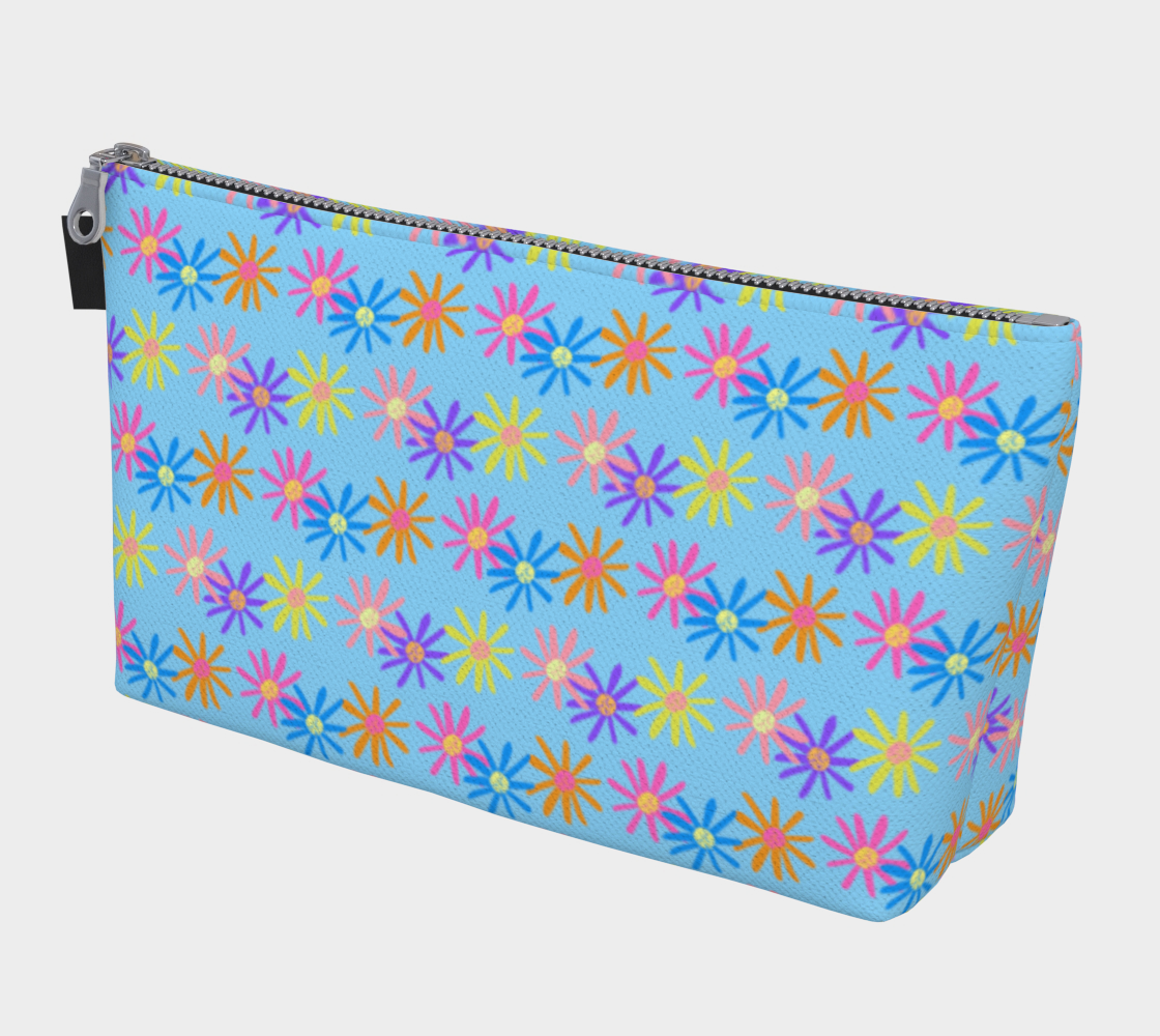 Daisies on Blue preview