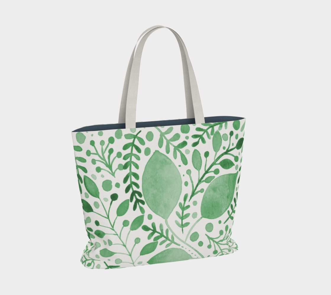 Branches and leaves - green preview #2