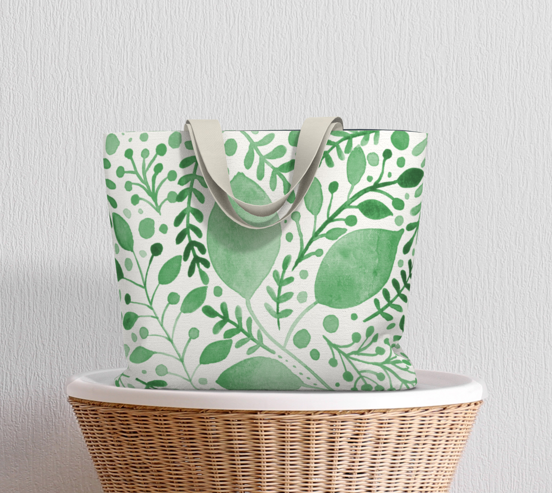 Branches and leaves - green preview #5