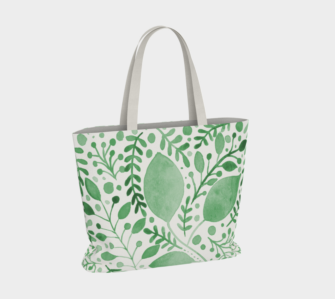 Branches and leaves - green preview #4