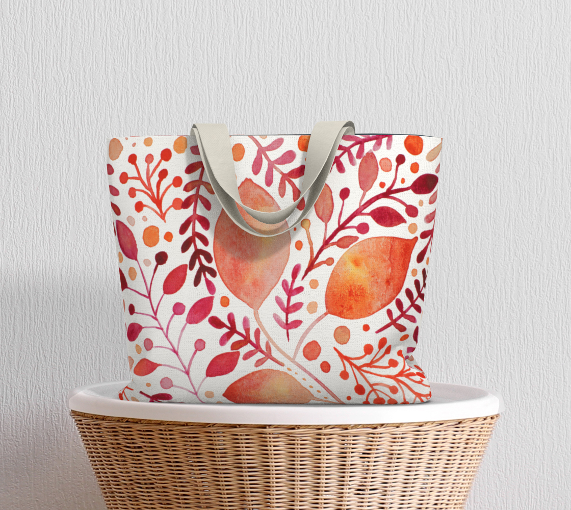 Branches and leaves - orange preview #5
