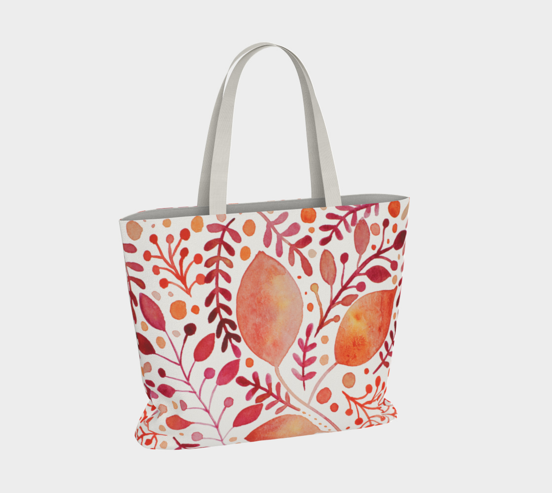 Branches and leaves - orange preview #4