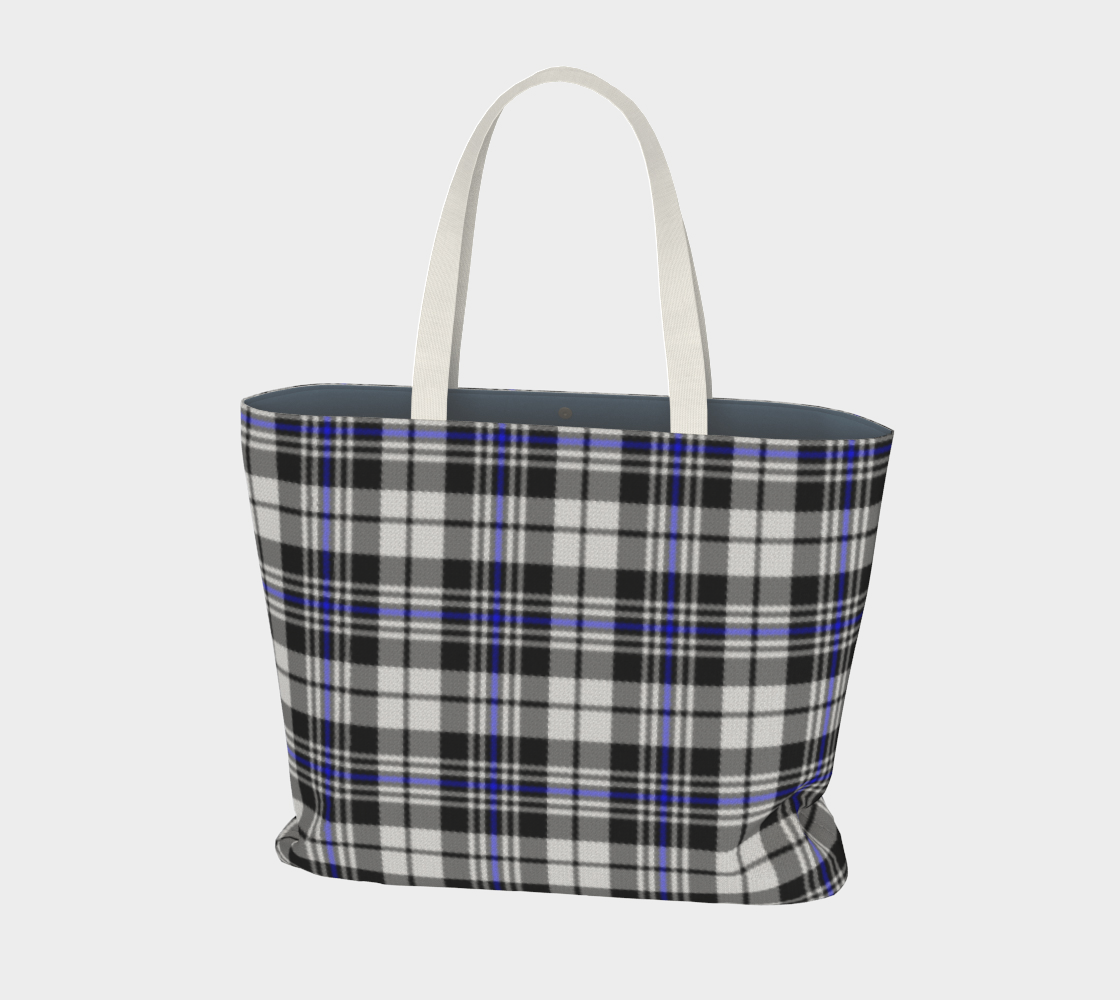 Black White and Blue Plaid preview