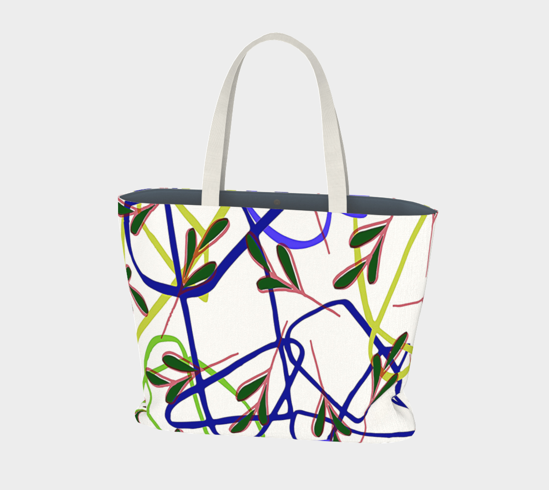 Abstract, Wacky Shapes And Leaves Abstracto preview