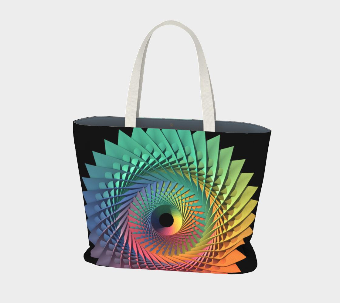 3-D Rainbow Mandala Design preview