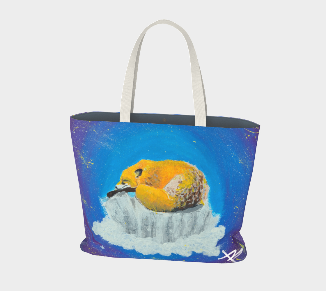 Sweet Dreams Fox - Large Tote preview