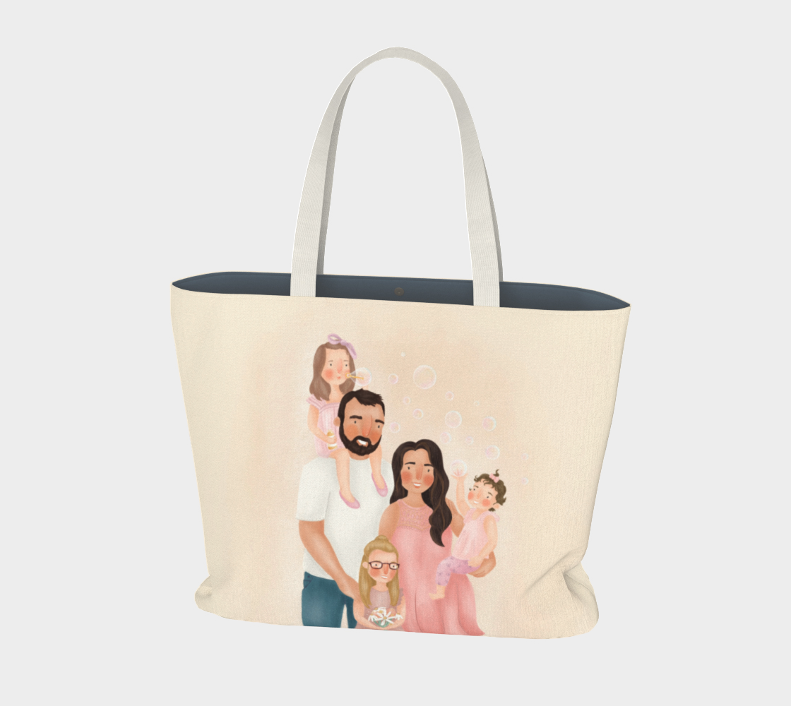 Angele - Custom Large Tote preview