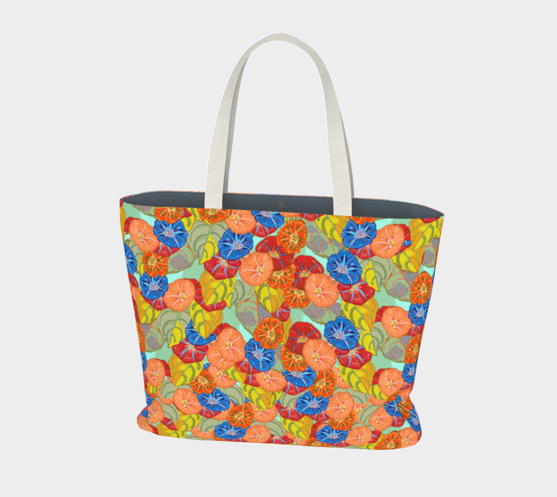 Hot Floral Large Tote preview