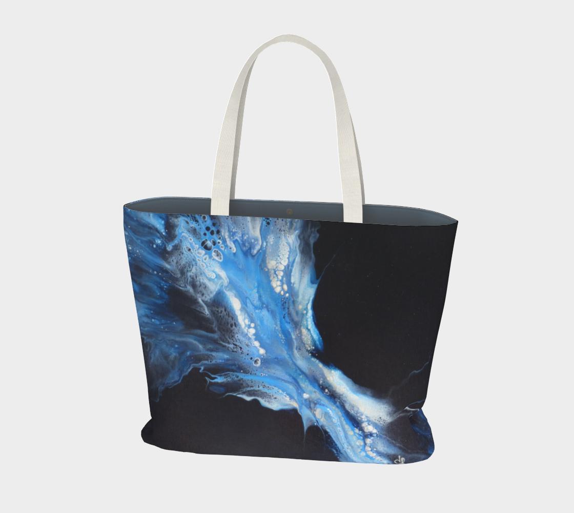 Aperçu de Flambée bleue - Sac large