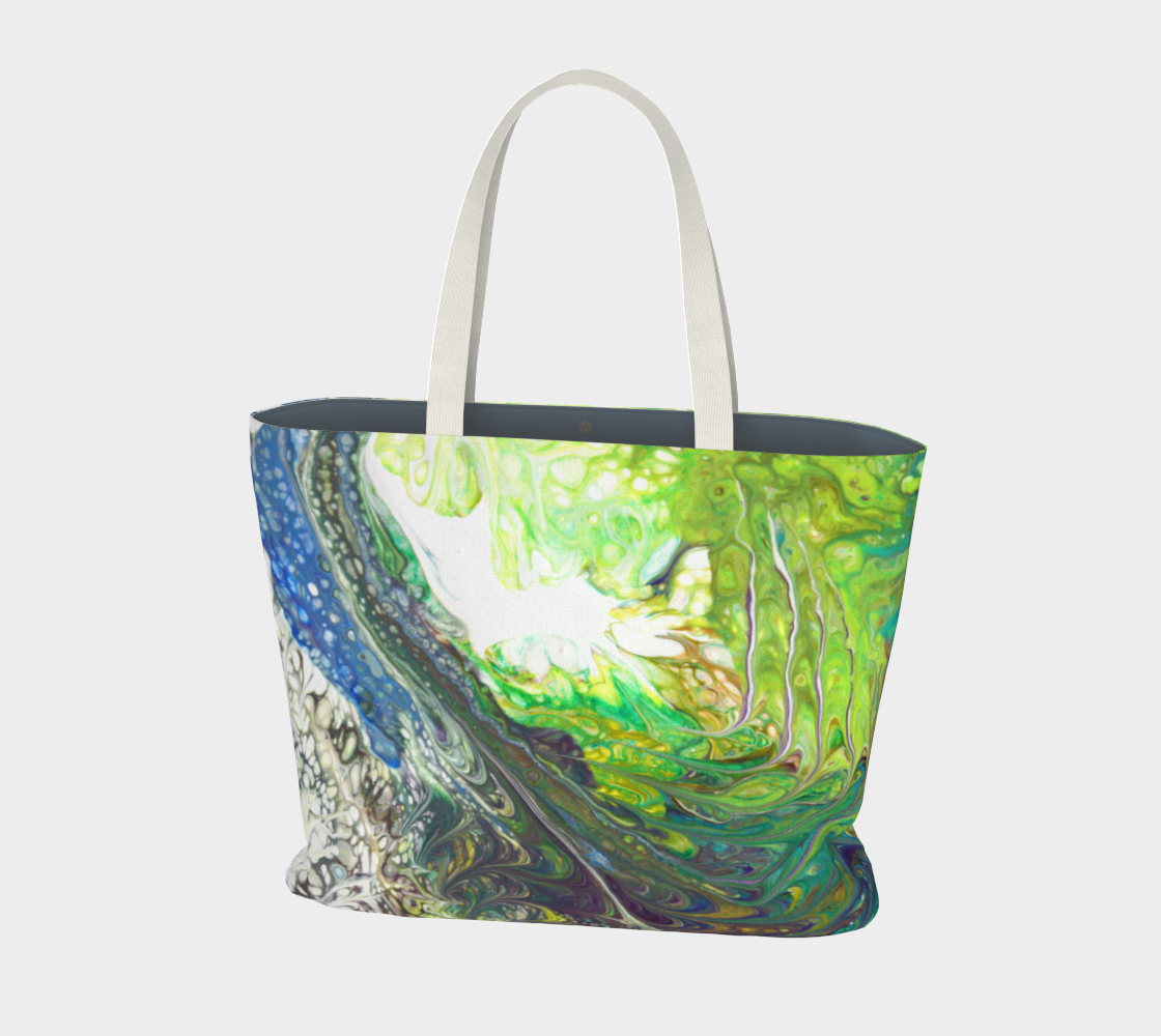 Wave Action Large Tote Bag preview