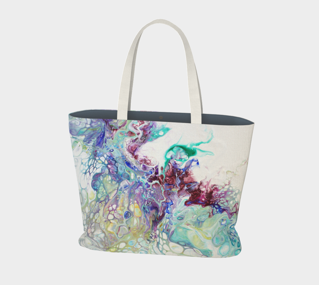Wings Large Tote Bag preview