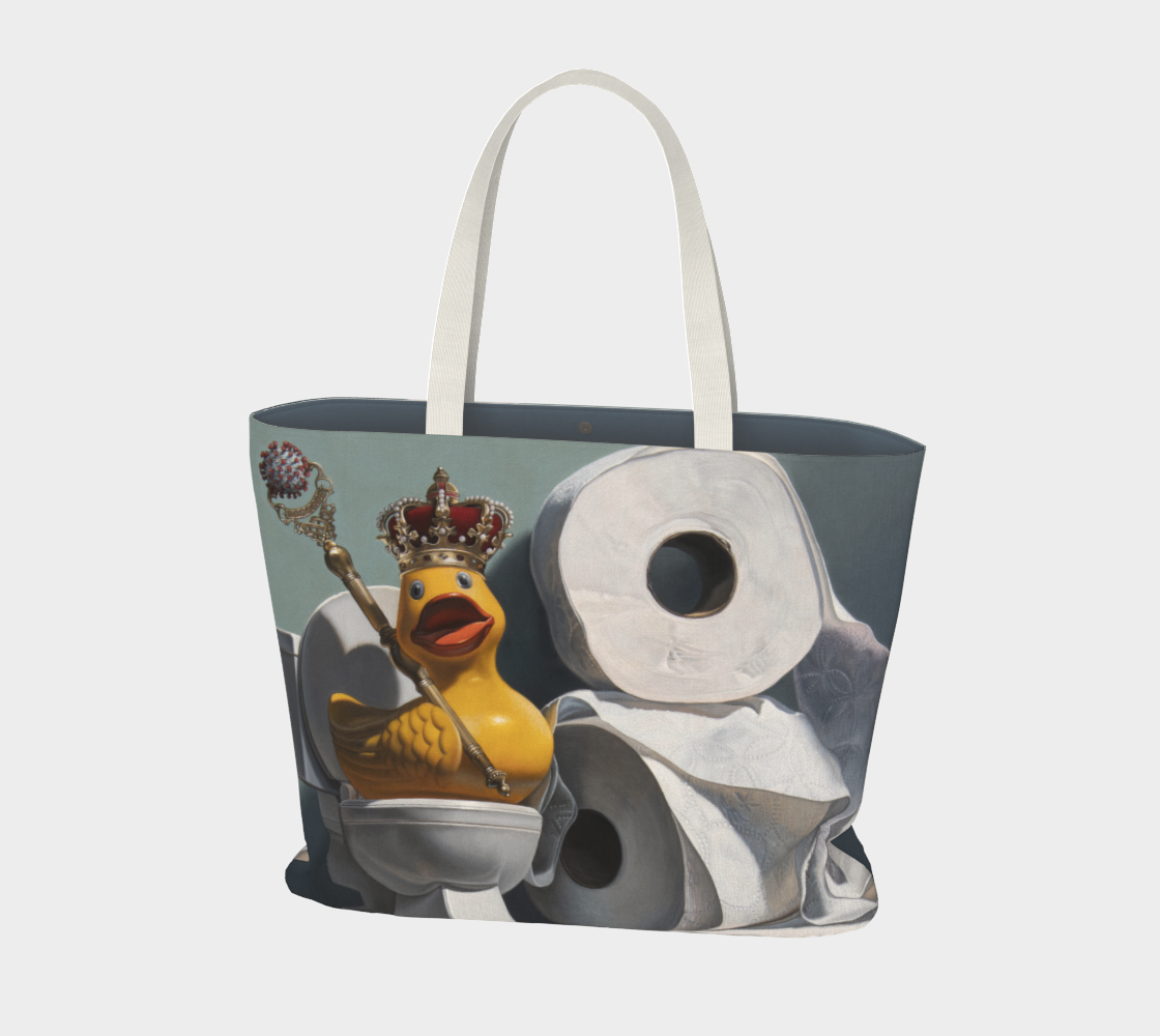 What the Duck Large Tote Bag preview #1