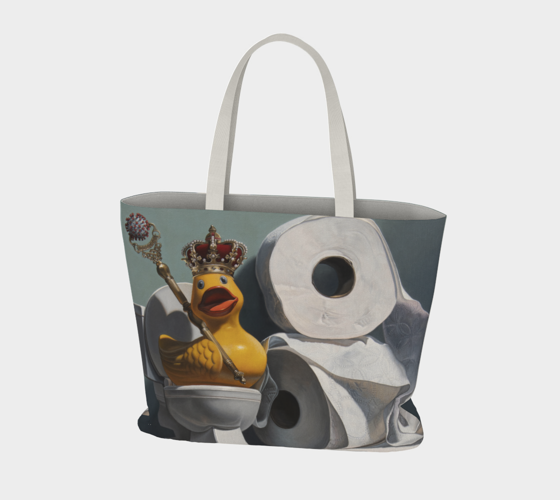 What the Duck Large Tote Bag preview #3