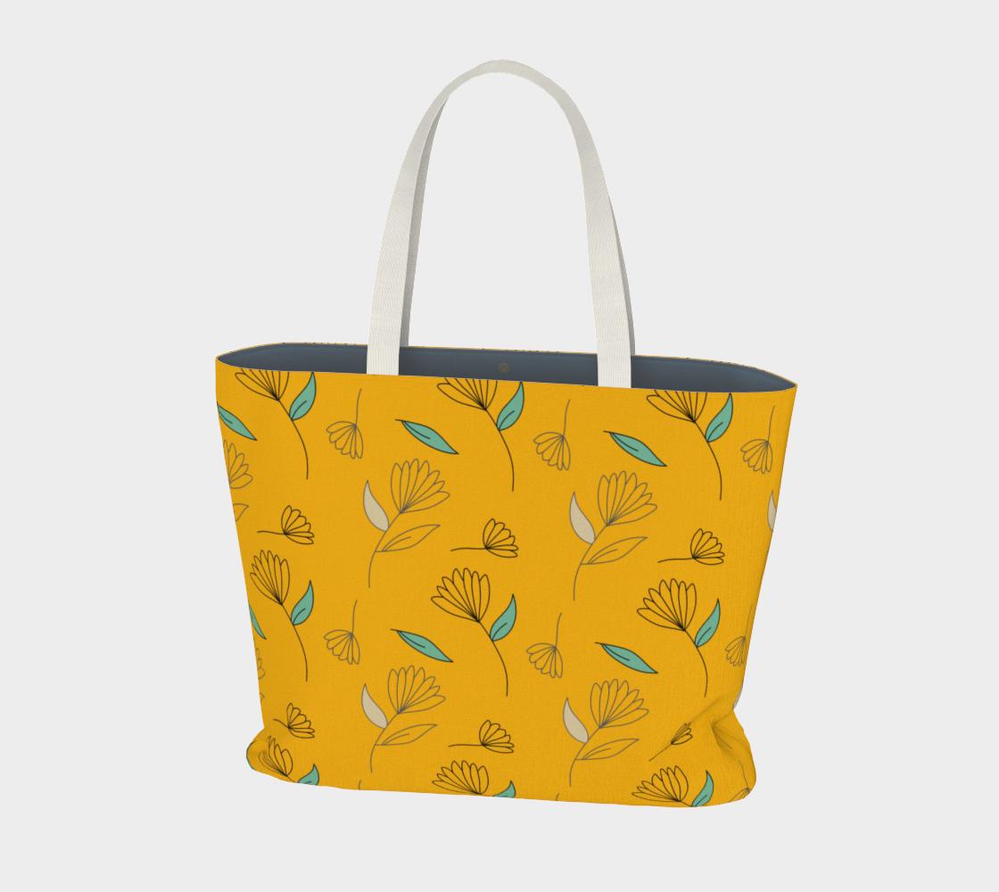 Flower Stem on Orange preview